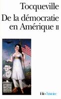 Tocqueville de la démocratie en amérique